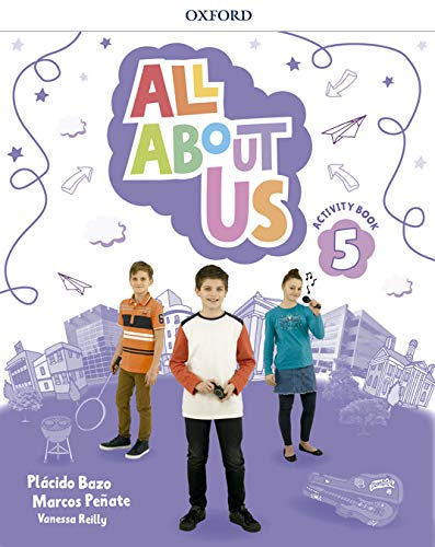 E.P.-ALL ABOUT US 5. ACTIVITY BOOK + CD (2018)