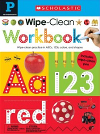 Pre-K Wipe-Clean Workbook