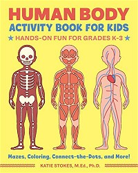Human Body Activity Book for Kids